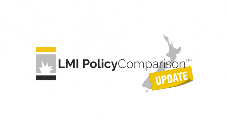PolicyComparison Updates New Zealand – September 19