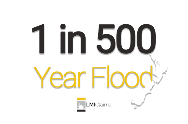 Once in five hundred year flood hits NZ